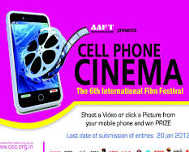 6th International Cell Phone Cinema Festival