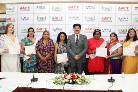 Special Class by AAFTian Kunal Rawal on First Day of AAFT Fashion School