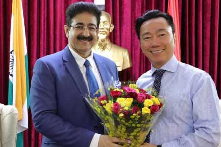 Vietnam Congratulated chancellor Sandeep Marwah