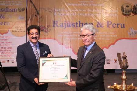 Carlos Rafael Polo Casteneda Patron to Indo Peru Cultural Forum.