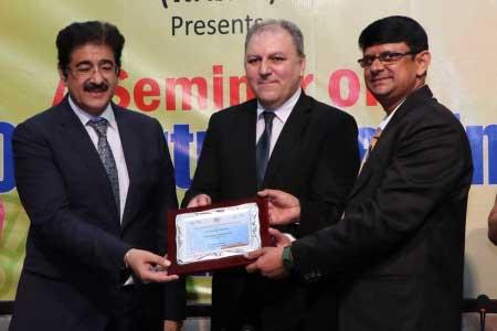 Sandeep Marwah Honored by WASME