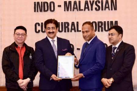 Asia's Film Television & Media Legend Award for Sandeep Marwah