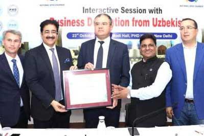 India Uzbekistan Ties Are Much Stronger- Sandeep Marwah